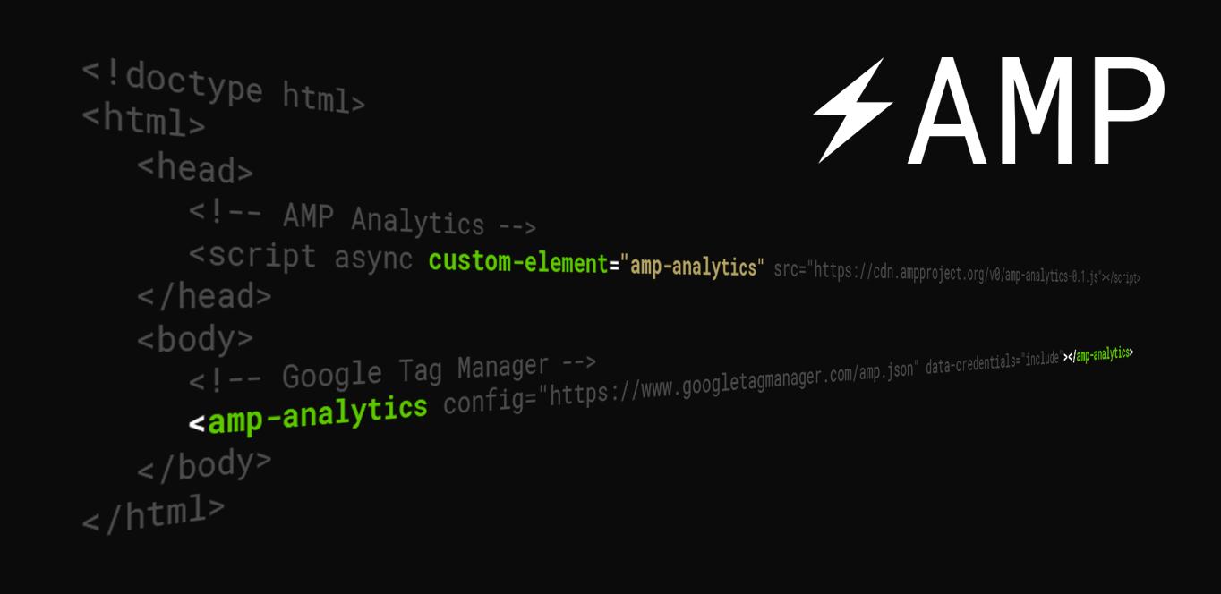 Как настроить веб-аналитику на AMP страницах - 1
