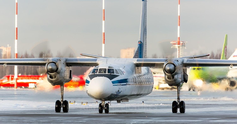 Крушение Ан-24 в Бурятии попало на видео