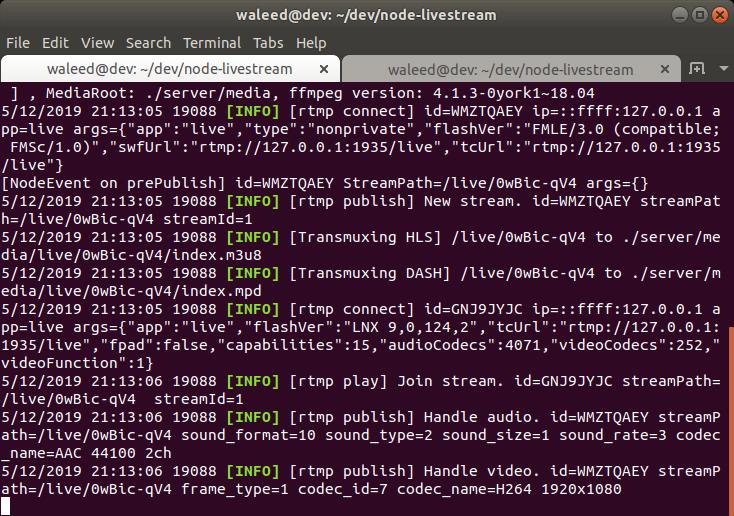 Разработка приложения для потокового вещания с помощью Node.js и React - 3