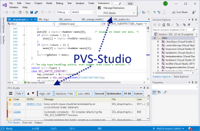PVS-Studio для Visual Studio - 1