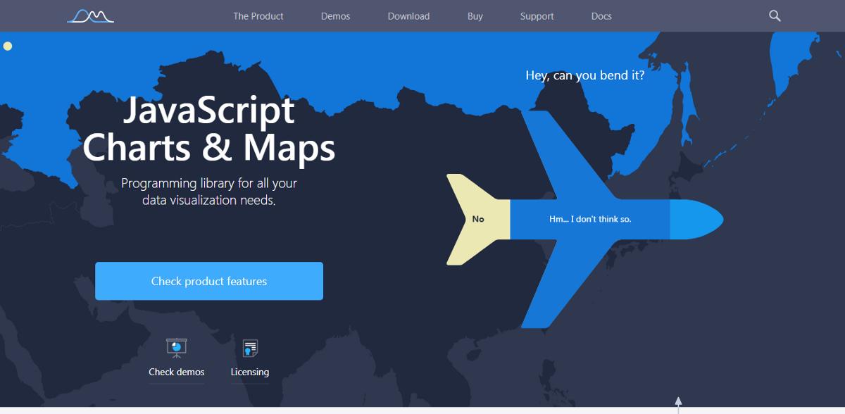 10 лучших JavaScript библиотек для визуализации данных на графиках и диаграммах - 2