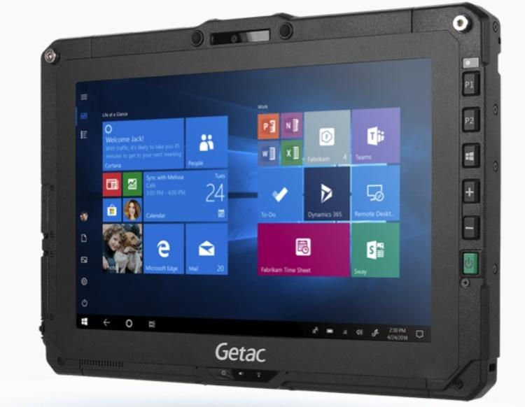 Getac UX10: защищённый планшет с 10,1-дюймовым дисплеем