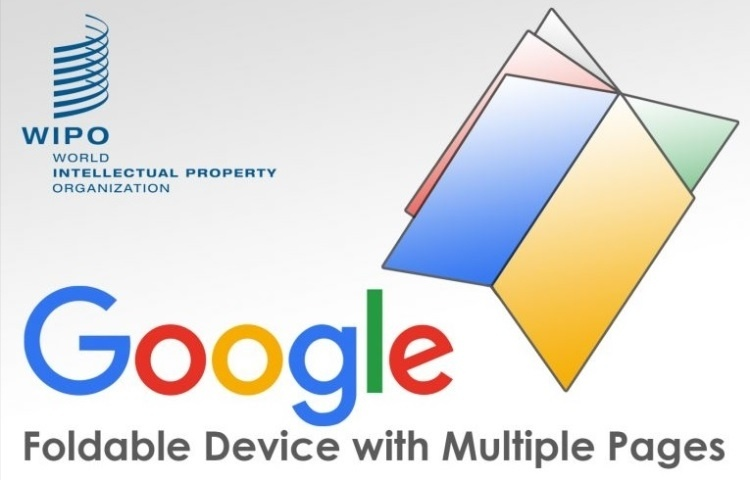 Google запатентовала смартфон-книгу с несколькими дисплеями