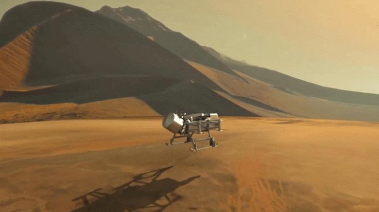 NASA отправит на Титан дрон для поисков следов органической жизни
