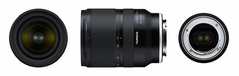 Представлен полнокадровый объектив Tamron 17-28mm F/2.8 Di III RXD (Model A046) с креплением Sony E