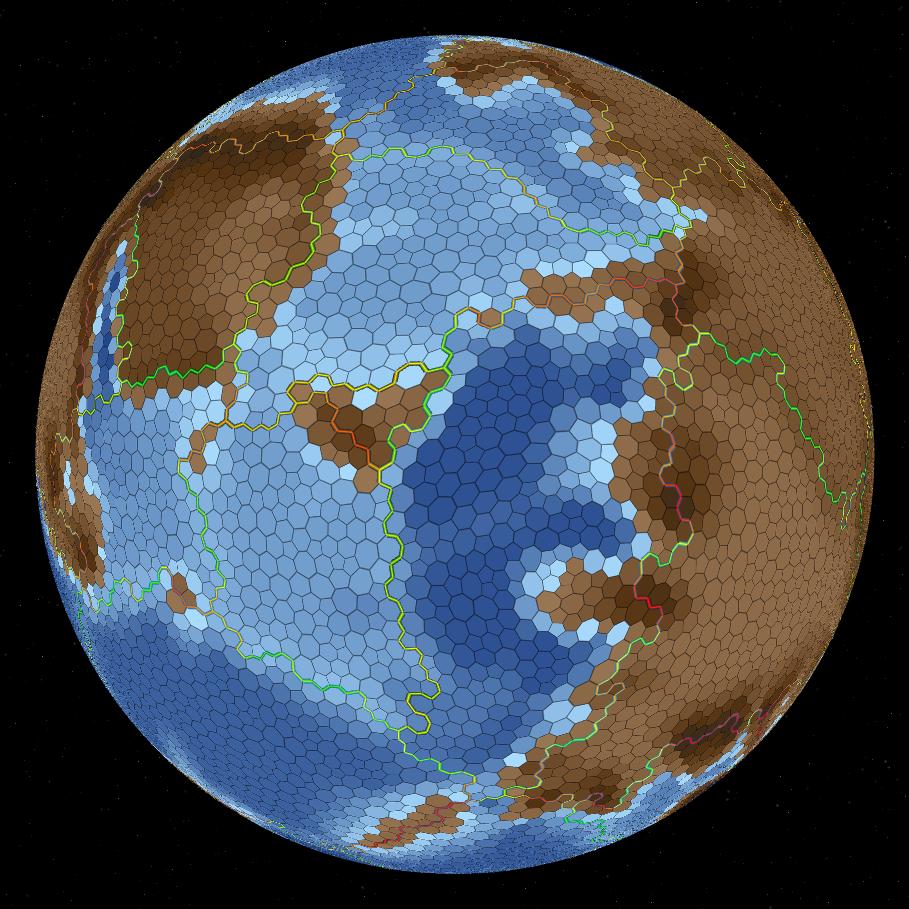 Процедурная генерация планет - 10