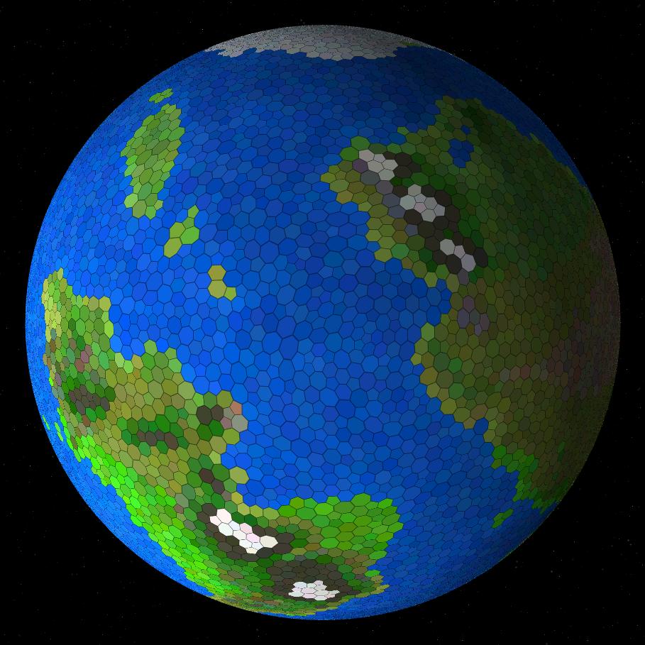 Процедурная генерация планет - 16