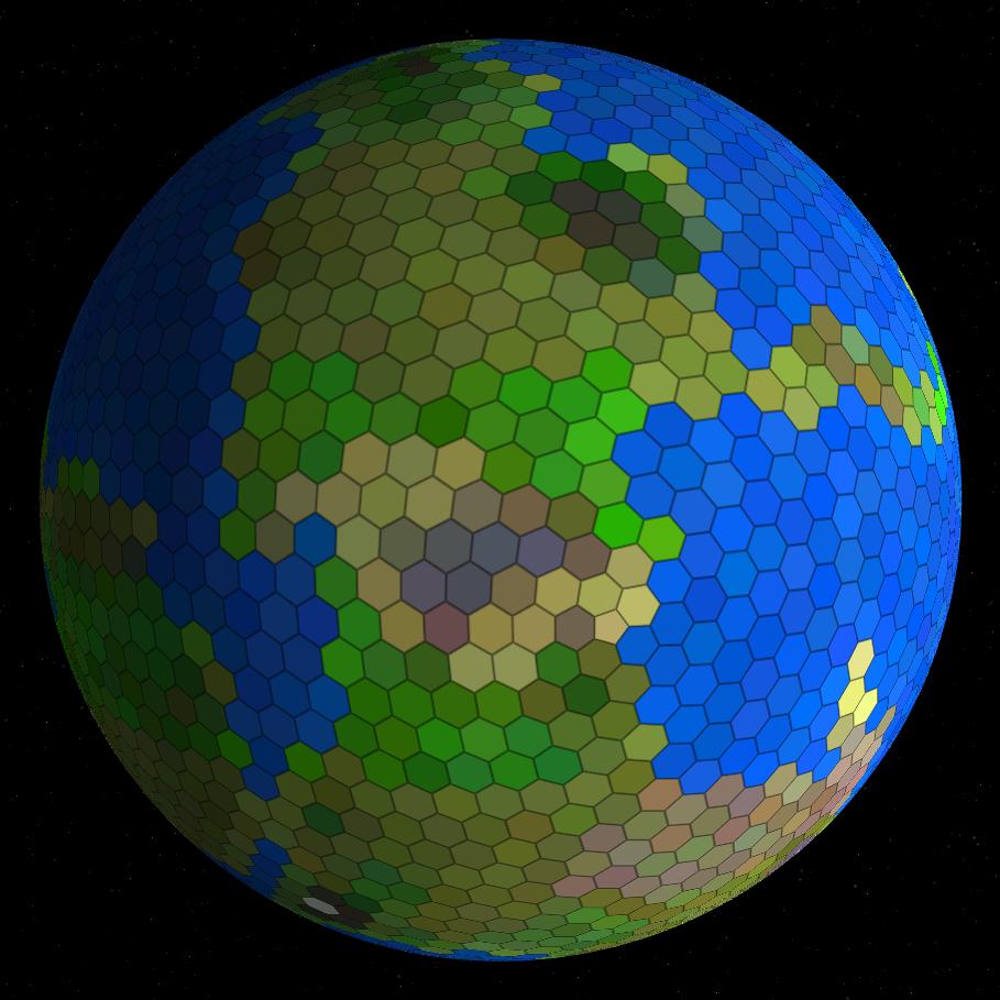 Процедурная генерация планет - 17