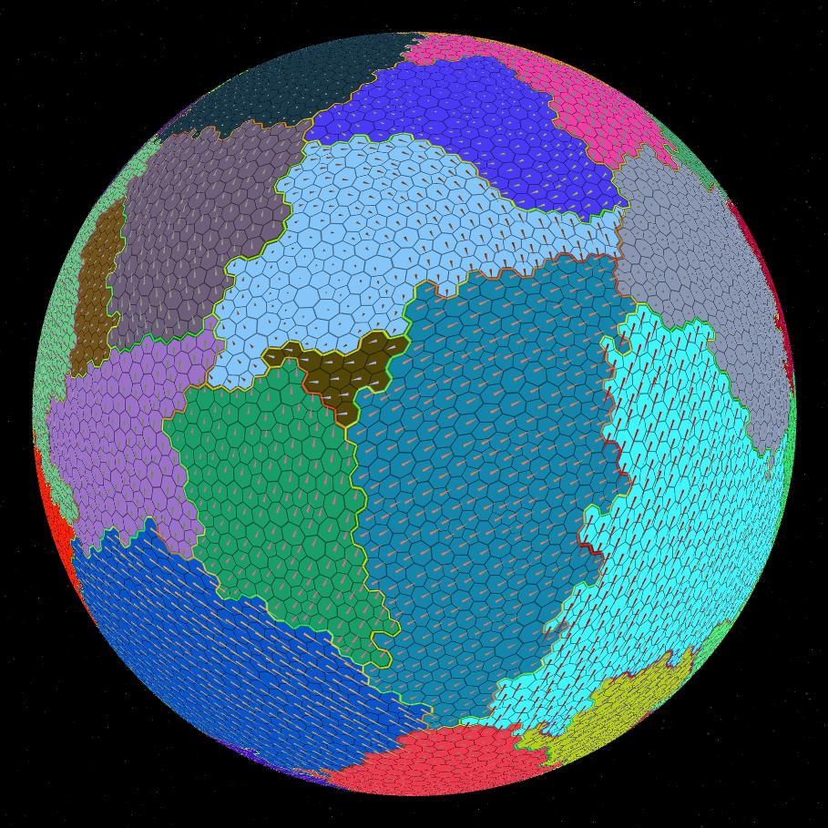 Процедурная генерация планет - 9