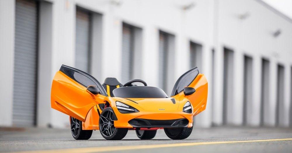 McLaren сделала миниатюрную версию спорткара 720S
