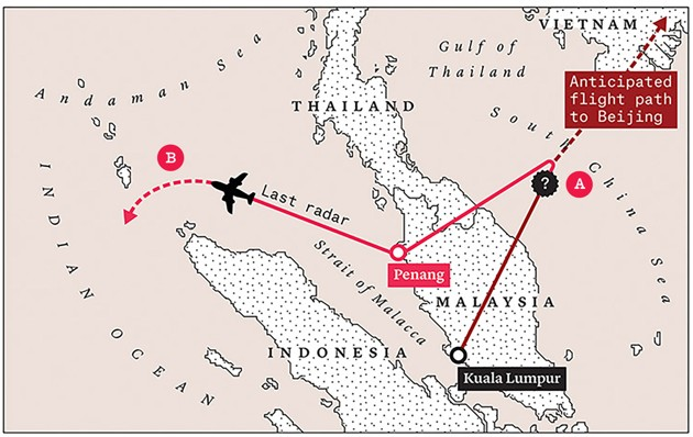 Что на самом деле случилось с исчезнувшим малазийским Боингом (часть 2-3) - 2