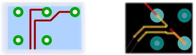 Методы сопряжения электрических соединений при трассировке дифференциальных пар на печатных платах - 7