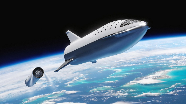 Первый коммерческий полёт космического корабля SpaceX Starship может состояться уже в 2021 году
