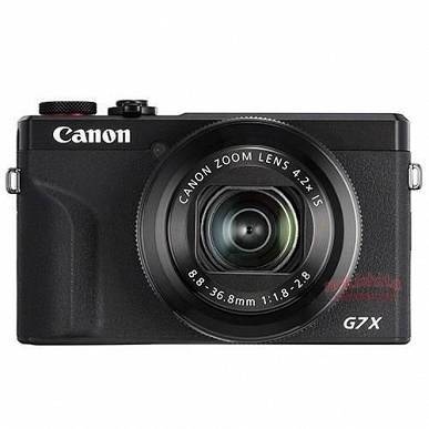 Появились изображения и некоторые технические данные камеры Canon PowerShot G7 X Mark III