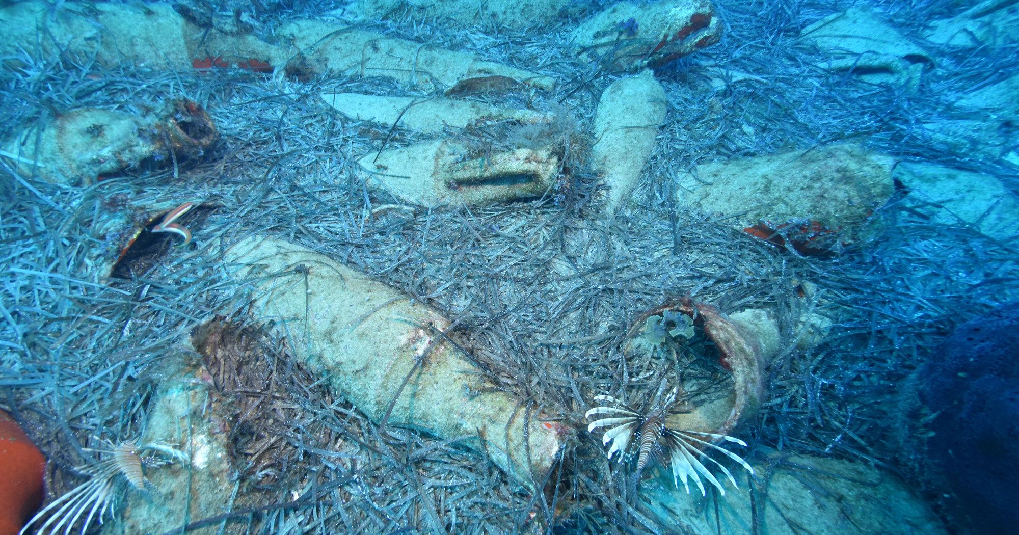У побережья Кипра обнаружили затонувшее древнеримское судно