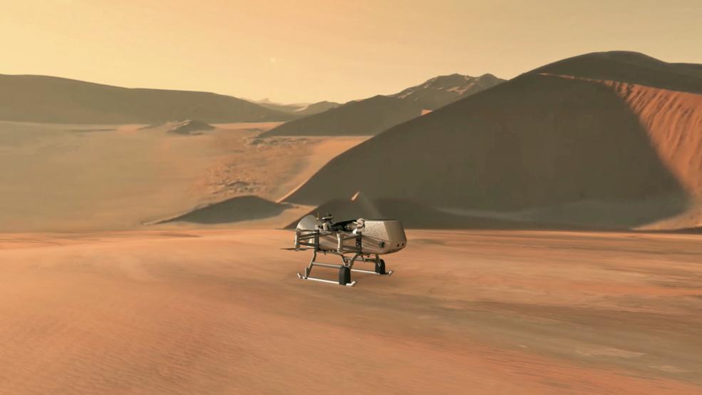 NASA отправит летающий ровер Dragonfly на Титан - 1