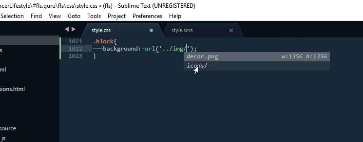Sublime Text 3 для верстки сайтов. Настройка внешнего вида и установка плагинов. Руководство для начинающих - 17