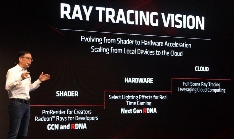Патент AMD описывает гибридный подход к трассировке лучей в реальном времени