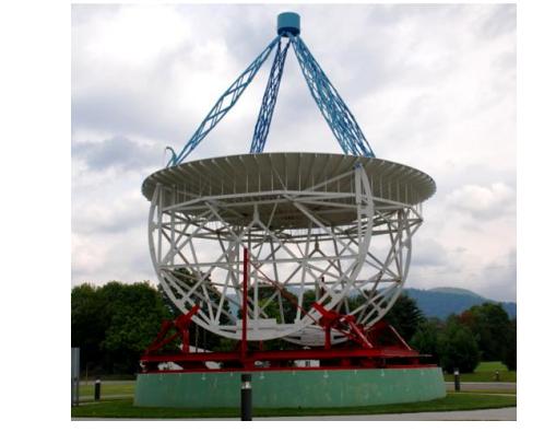 Математическая модель радиотелескопа со сверхдлинной базой - 1
