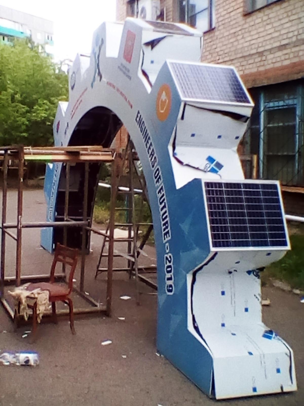 Сделал большую полушестерню на солнечных панелях за 250 000 рублей (2 часть) - 25