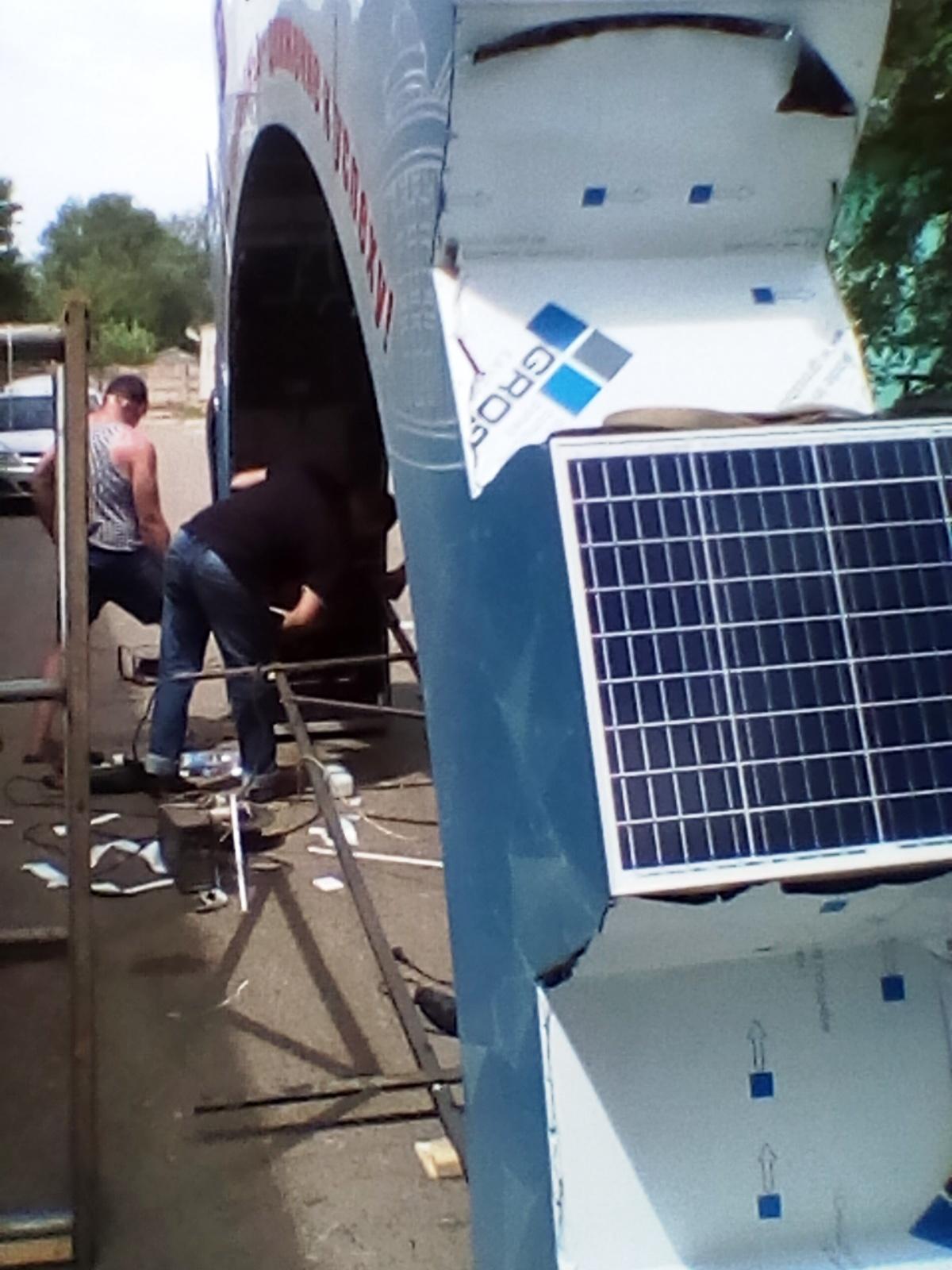 Сделал большую полушестерню на солнечных панелях за 250 000 рублей (2 часть) - 29