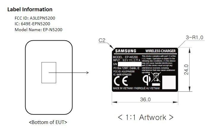 Samsung тестирует новую беспроводную зарядку для Galaxy Note10