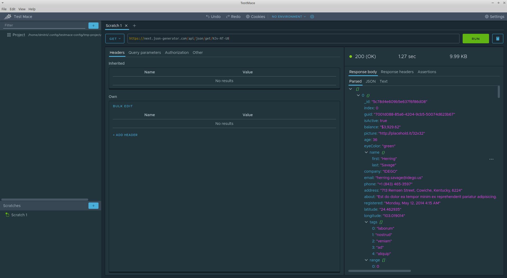 TestMace — мощная IDE для работы с API - 4