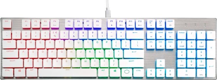 Клавиатуры Cooler Master SK Series Limited Edition выполнены в белом цвете