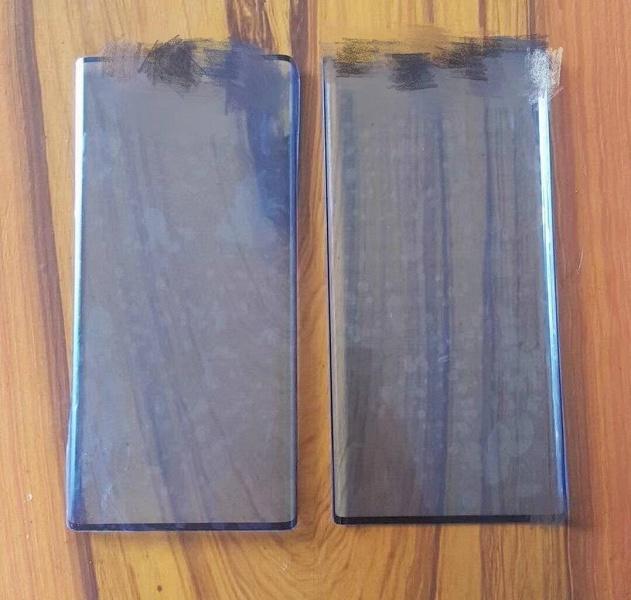 Предполагаемое фото лицевой панели Huawei Mate 30