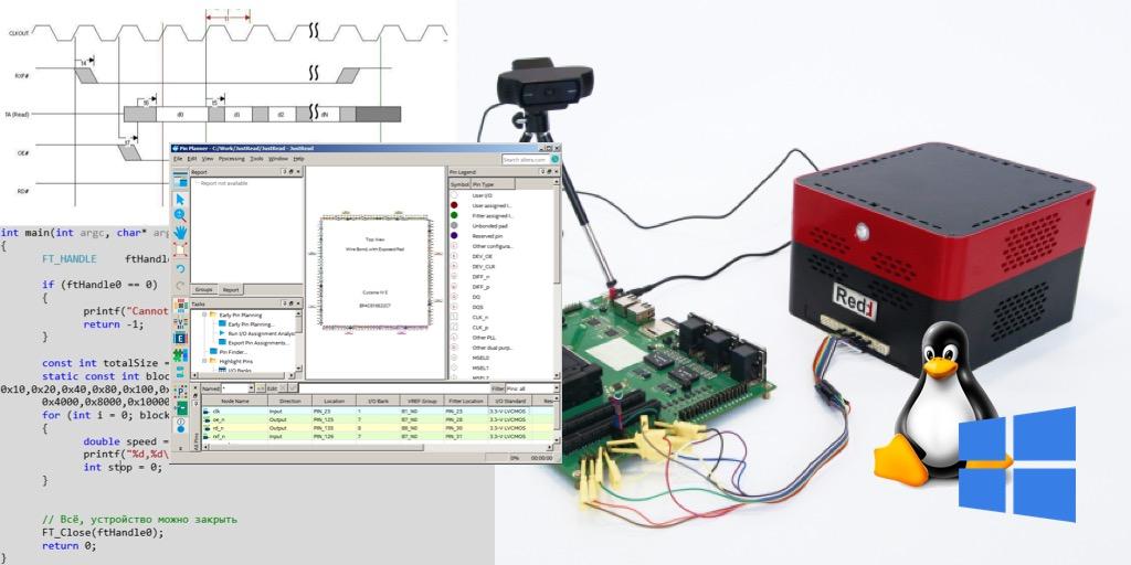 Разработка программ для центрального процессора Redd на примере доступа к ПЛИС - 1