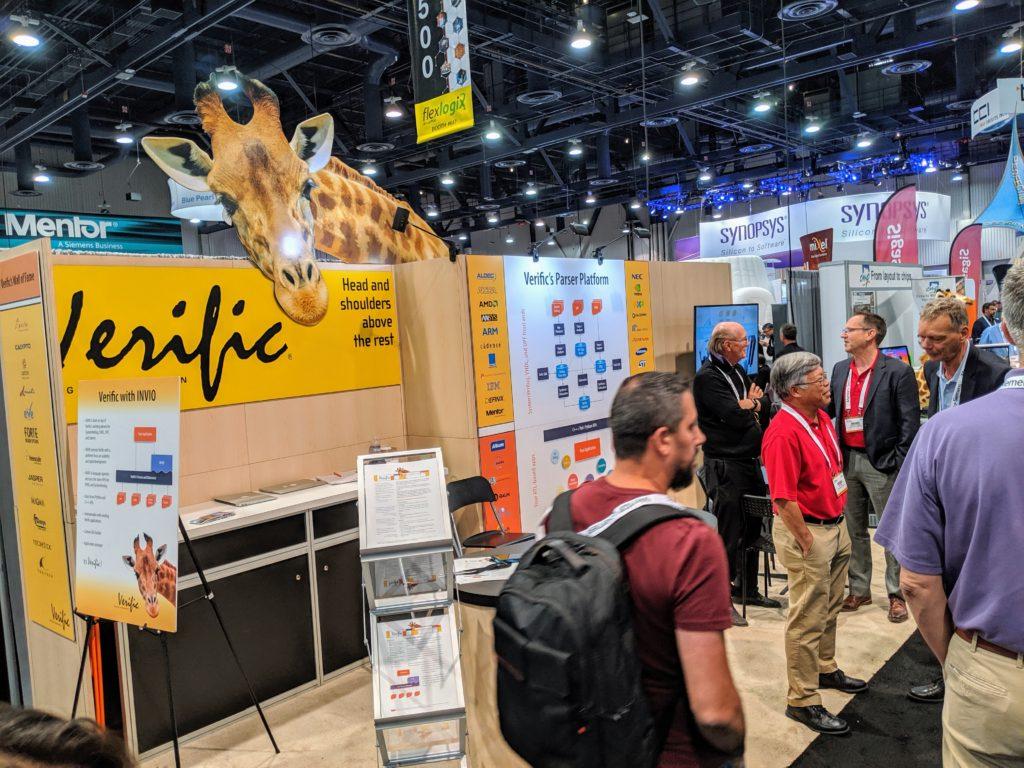 Выставка в Лас-Вегасе — для разработчиков электроники, а не ее потребителей. A report from Design Automation Conference - 9