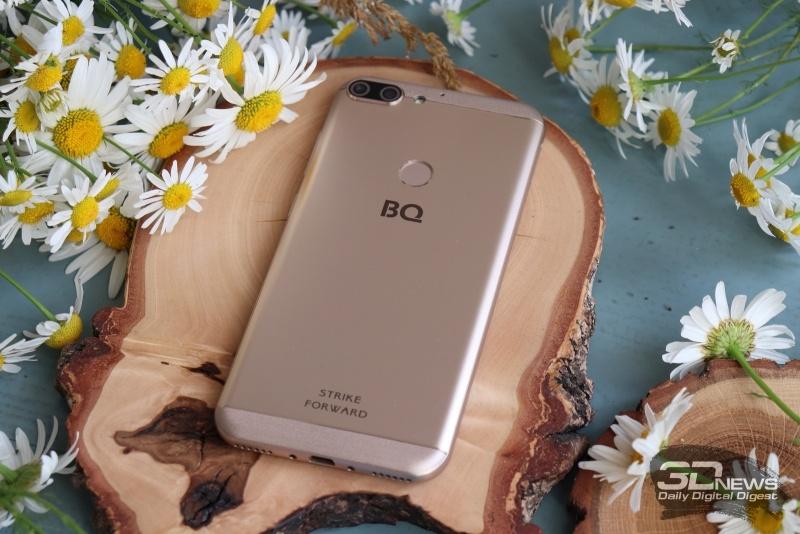 Новая статья: Обзор смартфона BQ Strike Forward: ни шагу назад