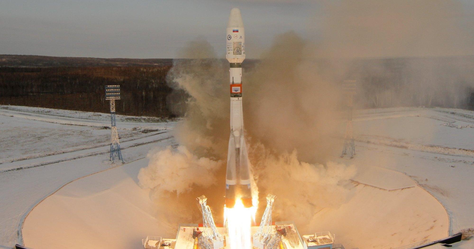 Прямая трансляция запуска «Метеора» с космодрома «Восточный»