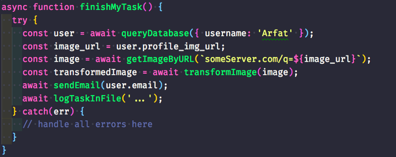 Разбираем Async-Await в JavaScript на примерах - 4