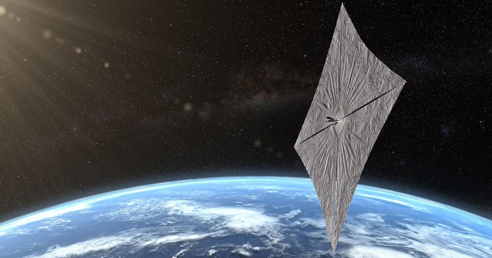 Космический парусник LightSail 2 связался с Землей