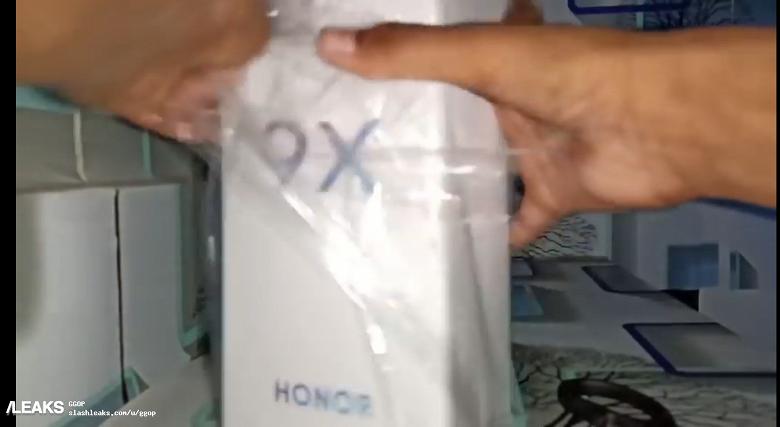 Смартфон Honor 9X засняли вживую