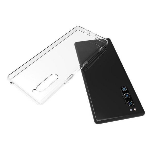 Галерея дня: флагманский смартфон Sony Xperia 2 в прозрачном чехле