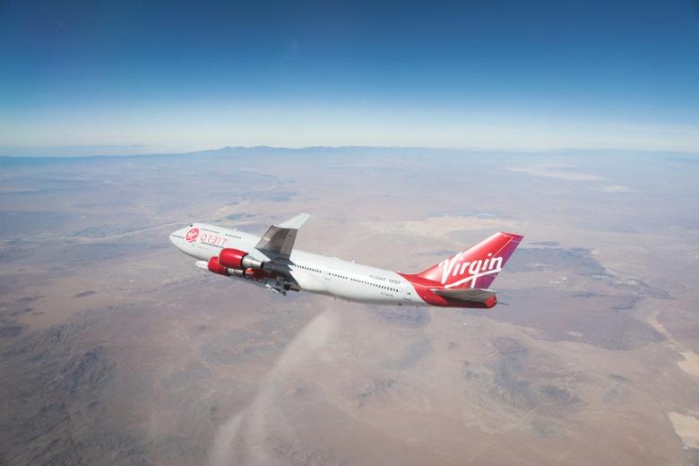 Virgin Orbit готовится к первому тесту, в рамках которого ракету LauncherOne сбросят с самолёта Boeing 747 Cosmic Girl