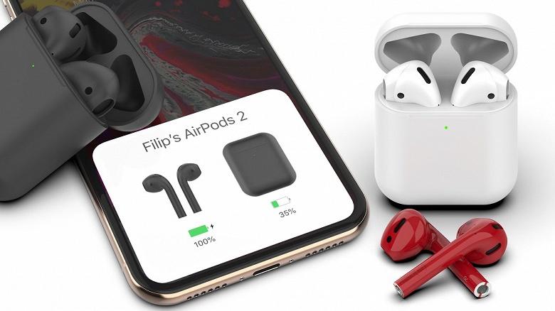Действительно новые наушники Apple AirPods получат защиту от воды и выйдут в конце года