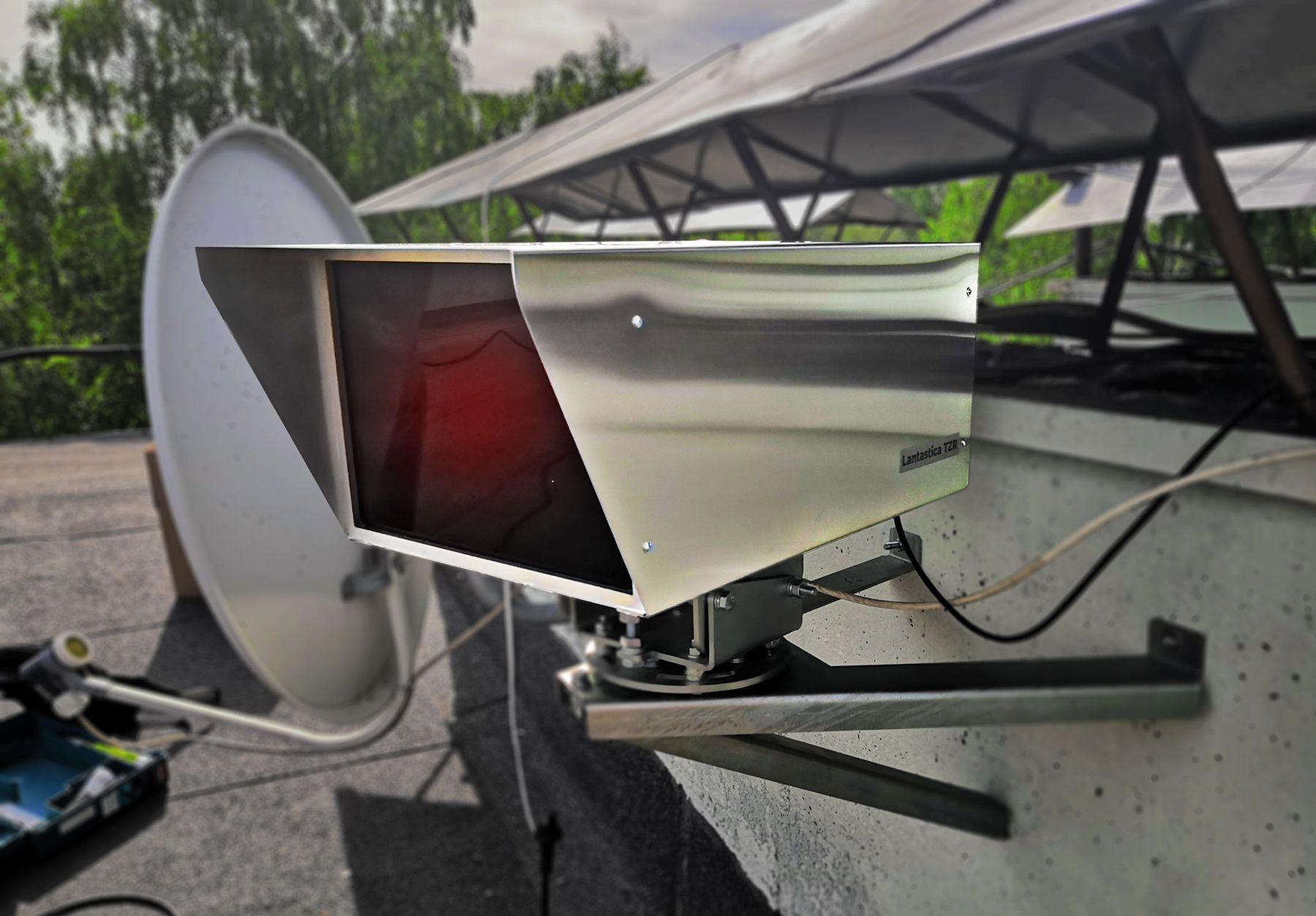 Гигабитный линк на 3 километра на лазерных модемах - 1
