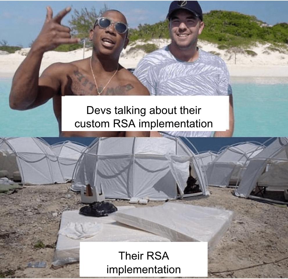 Хватит использовать RSA - 1