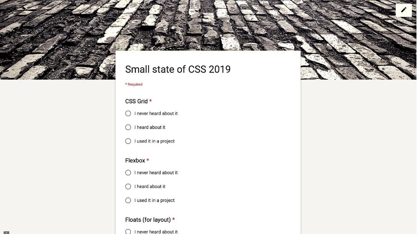 The state of CSS - 3