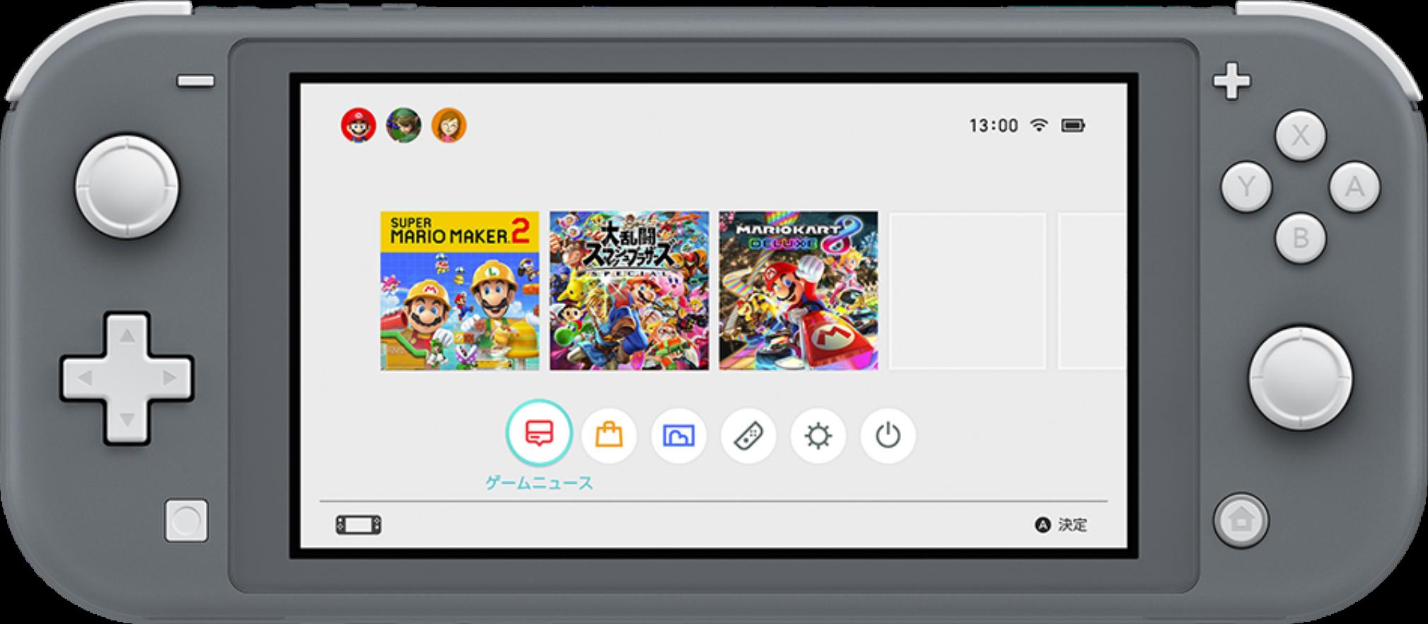 Анонсирована портативная игровая консоль Nintendo Switch Lite - 1