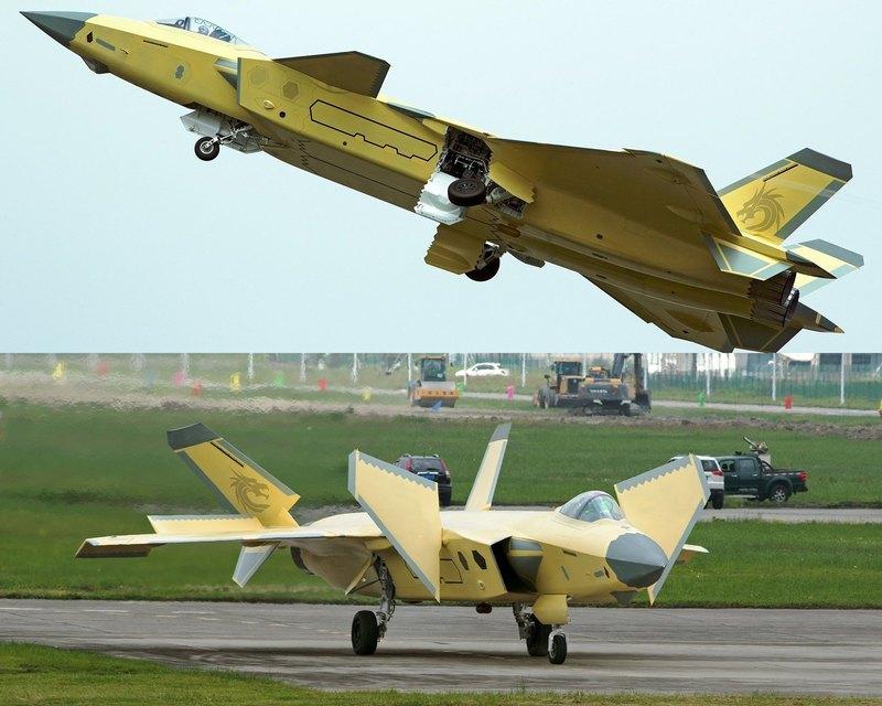 Китайский перспективный истребитель оказался «родственником» F-35