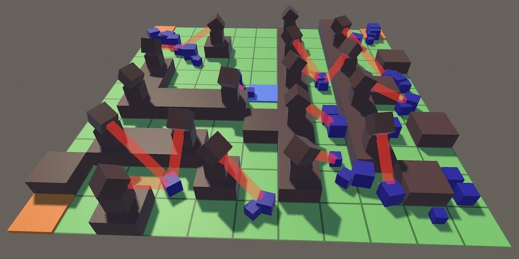 Создание игры Tower Defense в Unity: башни и стрельба по врагам - 1