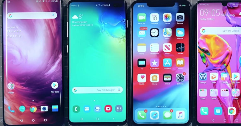 Топовые смартфоны сравнили в тесте на время автономной работы: видео