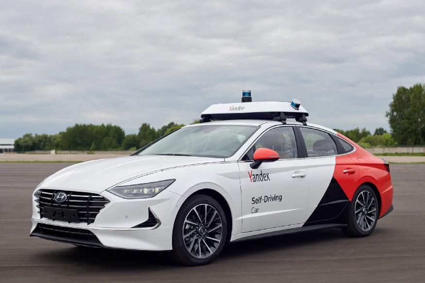 «Яндекс» и Hyundai представили совместный беспилотник - 1