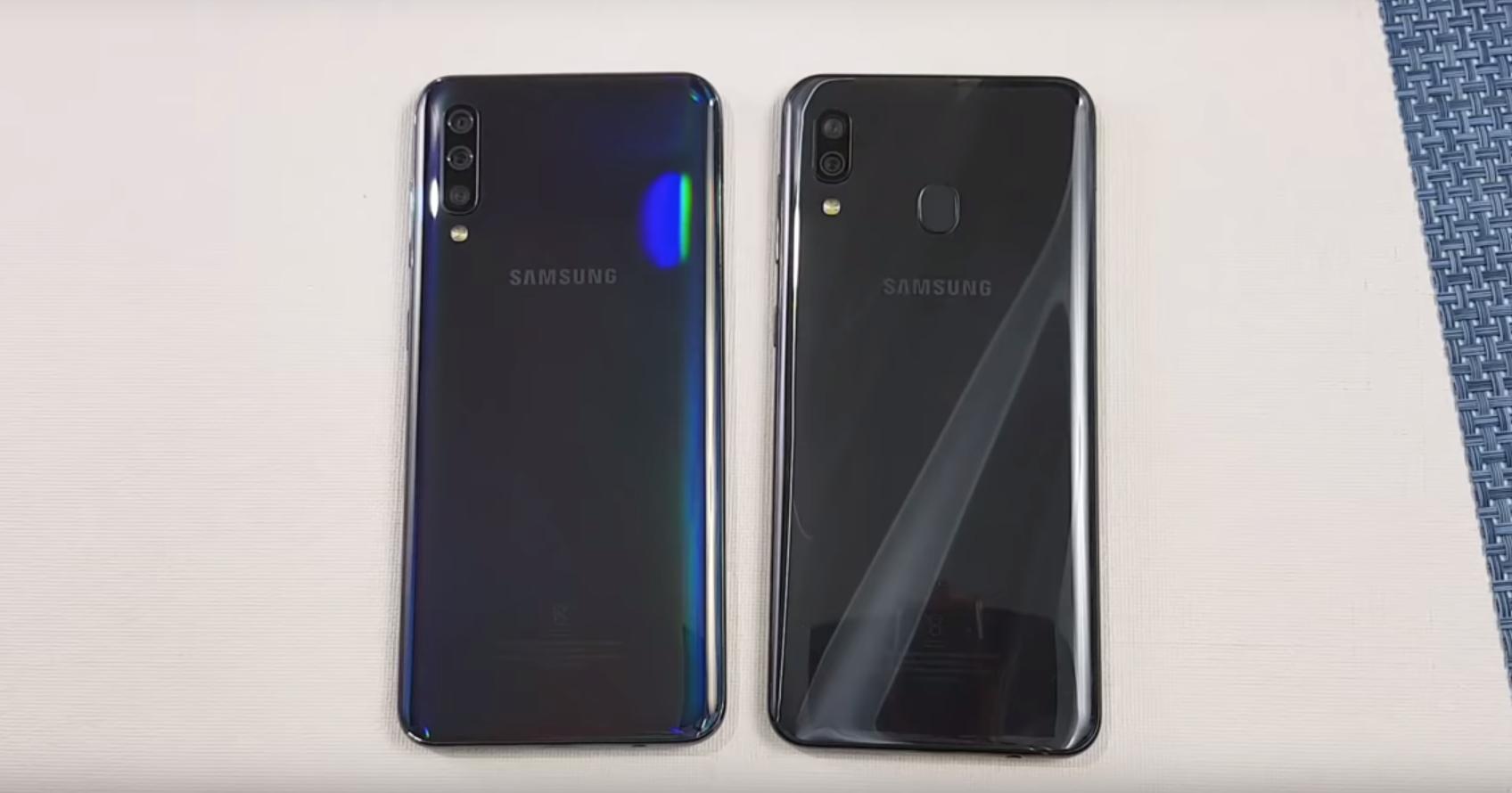 Samsung Galaxy A50 против Galaxy A30: тест на скорость