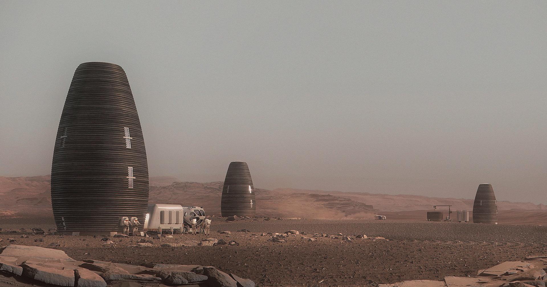 Космонавты на даче: марсианские дома будущего