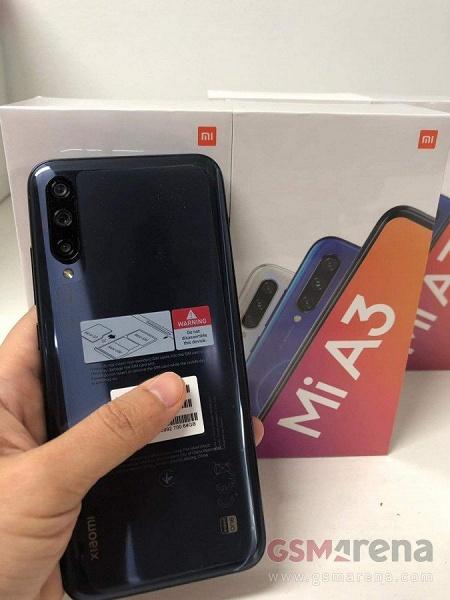 Опубликованы живые фото Xiaomi Mi A3 и его коробки, подтверждены характеристики